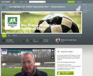 Projekt Fußball-Regionalliga-West-auf Startnext