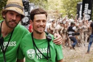 Die KrassFit-Gründer Matthias Ernst (l.) und Jannis Bandorski