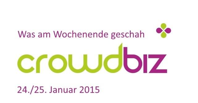 crowdbiz Wochenend-Update