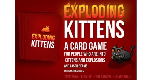 Exploding Kittens auf Kickstarter