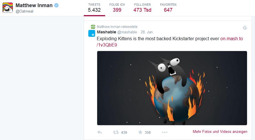Twitter-Profil Matthew Inman