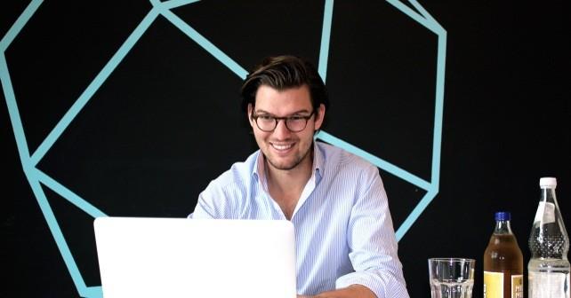 Valentin Stalf. CEO und Mitgründer von Number26