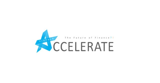 """Logo der Accelerate@HHL-Konferenz """"Fintech: Die Zukunft der Finanzwirtschaft?!"""""""