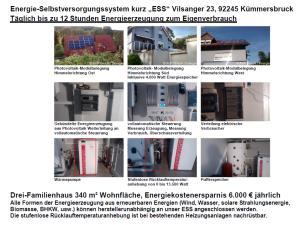 Beispiel eines Energie-Selbstversorgungssystems der AVP GmbH