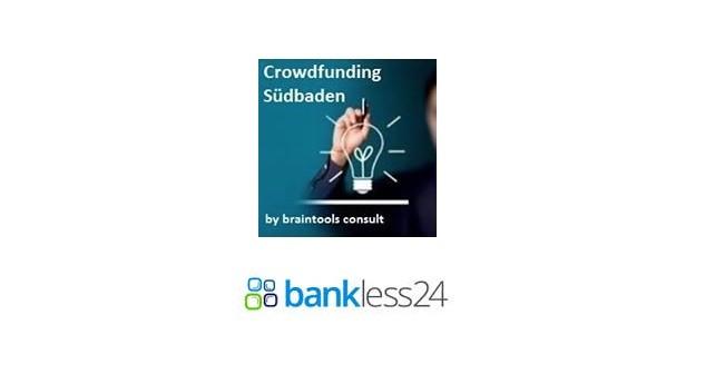 Crowdfunding Südbaden kooperiert mit bankless24