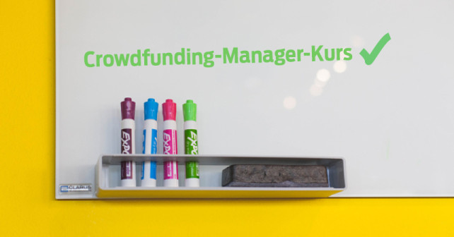 Crowdfunding-Manager IHK-Zertifikatskurs Berlin