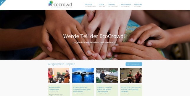 EcoCrowd Screenshot