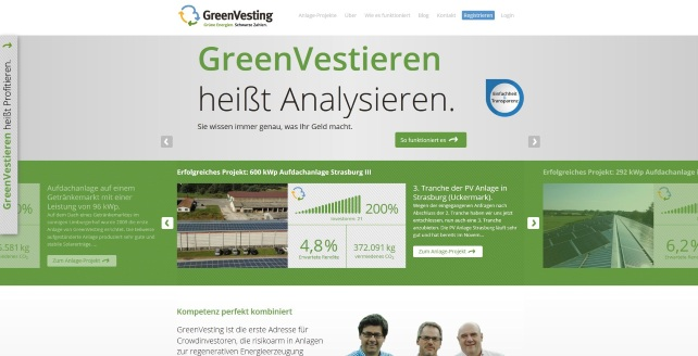 GreenVesting-Screenshot