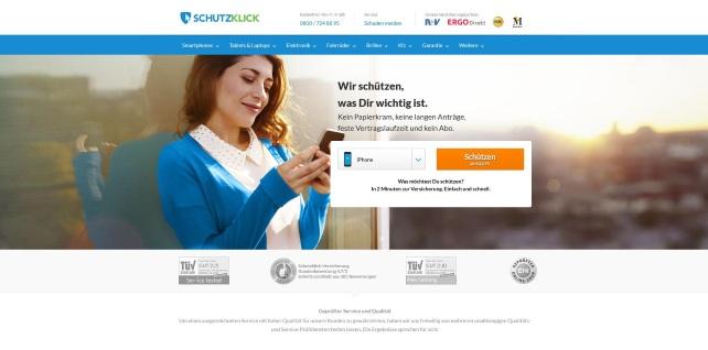 simplesurance-Marke Schutzklick