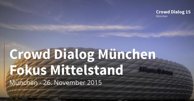 crowd dialog 2015 München